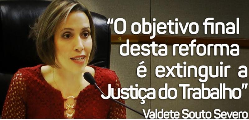 Em entrevista, juíza Valdete Severo reitera defesa da Justiça do Trabalho