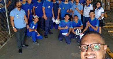 SINDCOM REALIZA REUNIÃO COM FUNCIONÁRIOS DA COMPARE DISTRIBUIDORA