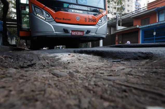 Consumo de asfalto cai ao menor nível em mais de dez anos