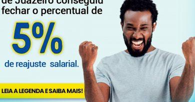 Sindicato conseguiu fechar percentual de reajuste salarial
