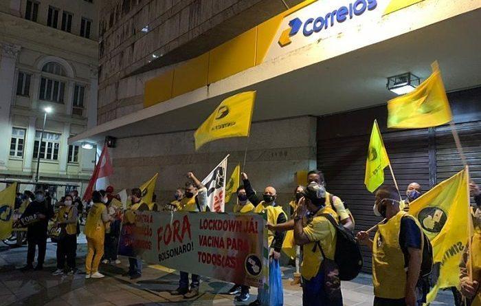TST propõe acordo com reposição da inflação para trabalhadores dos Correios